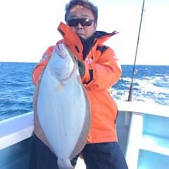 12月2日 (土)  午前便・ヒラメ釣り 午後便・ウタセ真鯛の写真その1