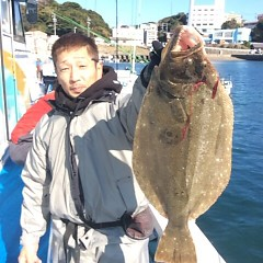 12月3日 (日)  午前便・ヒラメ釣り 午後便・ウタセ真鯛の写真その1