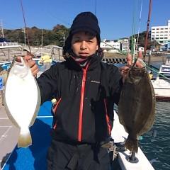 12月3日 (日)  午前便・ヒラメ釣り 午後便・ウタセ真鯛の写真その3