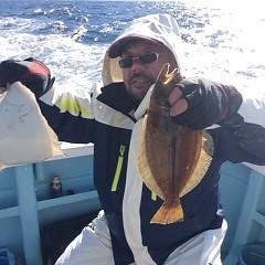 12月3日 (日)  午前便・ヒラメ釣り 午後便・ウタセ真鯛の写真その4