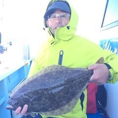 12月7日 (木)  午前便・ヒラメ釣りの写真その1