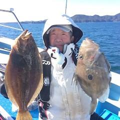 12月7日 (木)  午前便・ヒラメ釣りの写真その2
