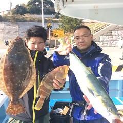 12月11日 (月) 午前便・ヒラメ釣りの写真その1