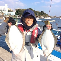 12月11日 (月) 午前便・ヒラメ釣りの写真その3