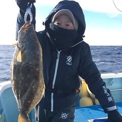 12月12日(月)午前便・ヒラメ釣りの写真その2