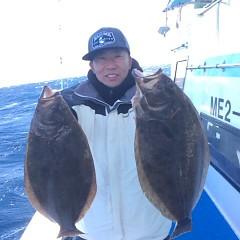 12月 13日 (水) 午前便・ヒラメ釣りの写真その1