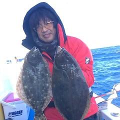 12月 15日 (金) 午前便・ヒラメ釣りの写真その1
