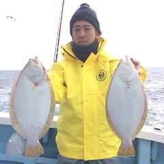 12月16日 (土) 午前便・ヒラメ釣り・午後便・ウタセ真鯛の写真その1