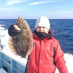 12月 23日 (土) 午前便・ヒラメ釣りの写真その3