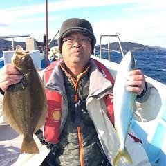 12月 26日 (日) 7時出船ヒラメ釣りの写真その1