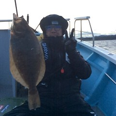 12月 28日 (木) ヒラメ釣りの写真その1