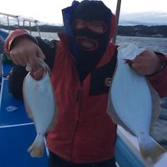 12月 28日 (木) ヒラメ釣りの写真その2
