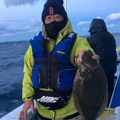 12月 28日 (木) ヒラメ釣りの写真その4