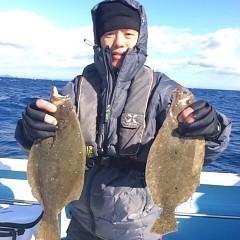12月 29日 (金) 午前便・ヒラメ釣りの写真その1