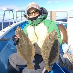 12月 29日 (金) 午前便・ヒラメ釣りの写真その2