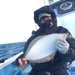12月30日(土)ヒラメ釣りの写真その1