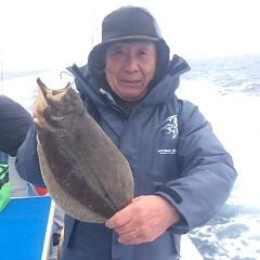 1月5日 (金) 7時出船ヒラメ釣りの写真その5