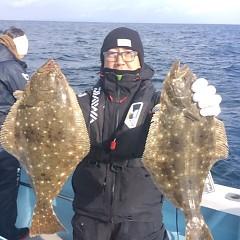 1月 6日 (土) 午前便・ヒラメ釣りの写真その2
