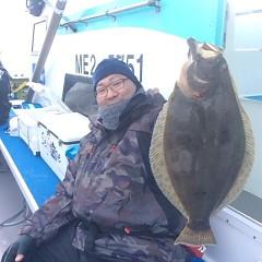 1月 6日 (土) 午前便・ヒラメ釣りの写真その4