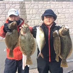 1月 6日 (土) 午前便・ヒラメ釣りの写真その5