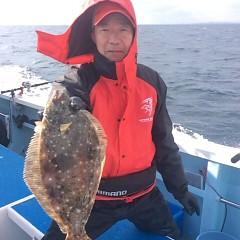 1月 6日 (土) 午前便・ヒラメ釣りの写真その6