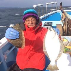 1月 6日 (土) 午前便・ヒラメ釣りの写真その8