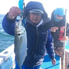 1月 6日 (土) 午後便・アジ釣りの写真その3