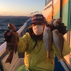 1月 11日 (木) 午後便・アジ釣りの写真その3