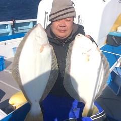 1月 13日 (土) 午前便・ヒラメ釣り・午後便・アジ釣りの写真その1