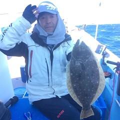 1月 13日 (土) 午前便・ヒラメ釣り・午後便・アジ釣りの写真その5