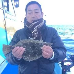 1月 16日 (火) 午前便・ヒラメ釣りの写真その3