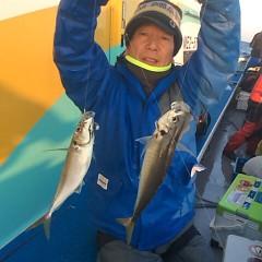 1月 19日 (金) 午後便・アジ釣りの写真その1