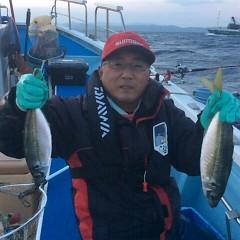 1月20日(土)午後便・アジ釣りの写真その3
