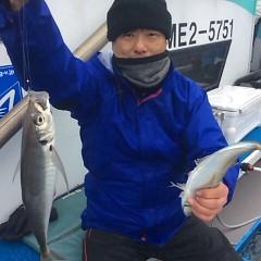 1月28日(日)午前便・ヒラメ釣り・午後便・アジ釣りの写真その6