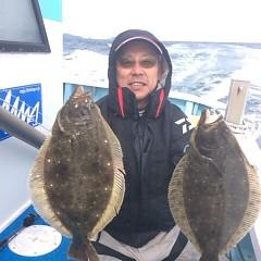 1月31日 (水) 午前便・ヒラメ釣りの写真その2