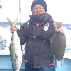 2月3日(土)午前便・ヒラメ釣りの写真その1