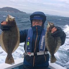 2月3日(土)午前便・ヒラメ釣りの写真その2