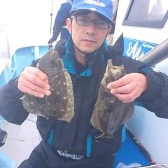2月3日(土)午前便・ヒラメ釣りの写真その4