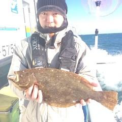 2月4日 (日) 1日便・ヒラメ釣りの写真その1