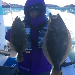 2月4日 (日) 1日便・ヒラメ釣りの写真その2