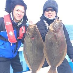 2月17日 (土) 午前便・ヒラメ釣りの写真その1