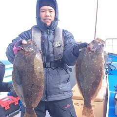 2月17日 (土) 午前便・ヒラメ釣りの写真その4