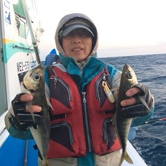 2月20日 (火) 午後便・アジ釣りの写真その1