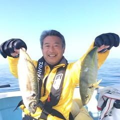 3月14日(水)  午前便・アジ釣りの写真その1