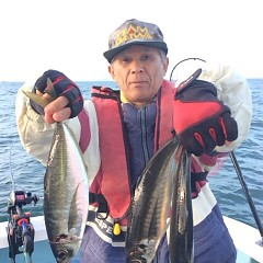 3月15日(木)  午後便・アジ釣りの写真その1