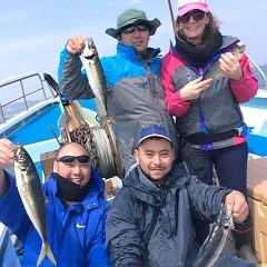 3月26日(月)午前・午後便・アジ釣りの写真その3