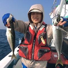3月26日(月)午前・午後便・アジ釣りの写真その8
