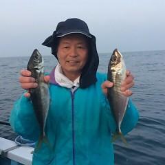 3月29日(木)  午後便・アジ釣りの写真その2