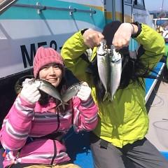 3月31日(日)  午前便・アジ釣りの写真その1