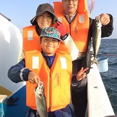 3月31日(日)  午後便・アジ釣りの写真その1
